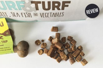 Review: Guru Pet Food - Field Trip Bone & Surf & Turf Dry food!