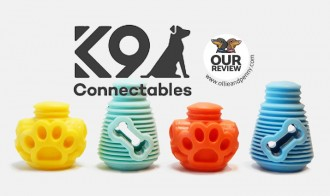 Review: K9 Connectables - Interactive Dog Toys!