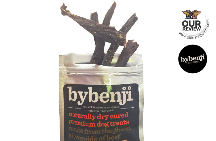 ByBenji Dry Cured Dog Treats - Review by Ollie & Penny
