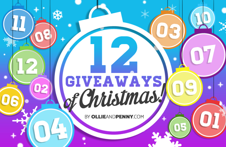 12 Giveaways of Christmas - Ollie & Penny Blog Ireland