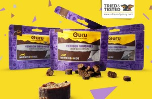 Tried & Tested: Venison Sausages by Guru Pet Food - Ollie & Penny Review - Blog - Ireland