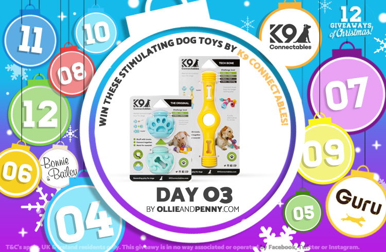 Day Three: K9 Connectables -12 Giveaways of Christmas - Ollie & Penny Blog Ireland