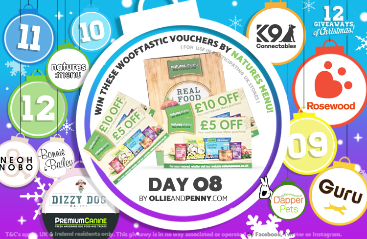 Day 08 - Natures Menu -12 Giveaways of Christmas - Ollie & Penny Blog Ireland