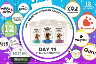 Day 11: Win Woof & Brew Goodies! - 12 Giveaways of Christmas!