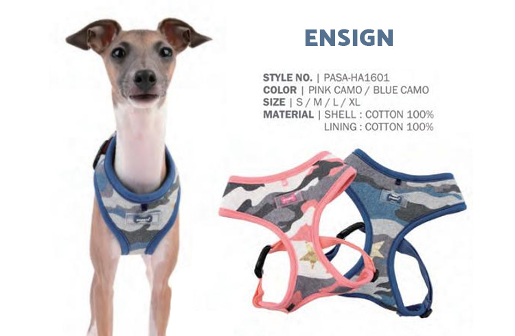 Ensign - Puppia Spring Summer Collection 2018 - Ollie & Penny Blog Ireland