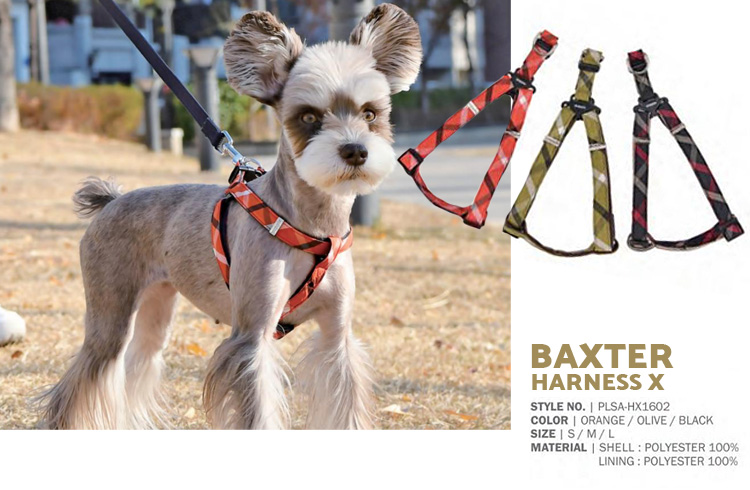 Baxter Harness X - Puppia Spring Summer Collection 2018 - Ollie & Penny Blog Ireland