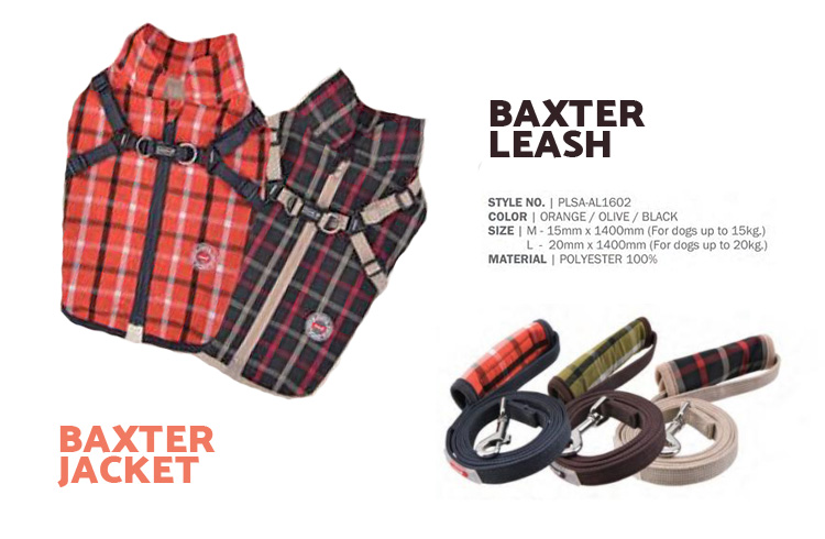 Baxter Jacket & Leash - Puppia Spring Summer Collection 2018 - Ollie & Penny Blog Ireland