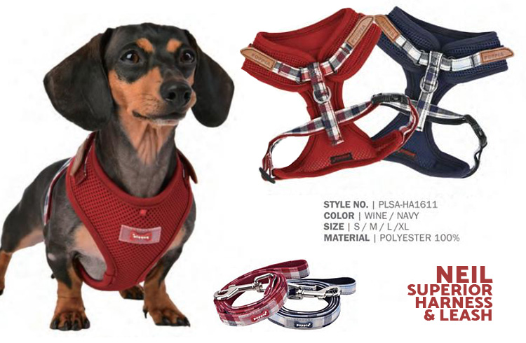 Neil Superior Harness - Puppia Spring Summer Collection 2018 - Ollie & Penny Blog Ireland