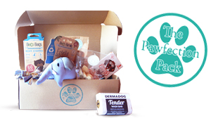 The Pawfection Pack Monthly themed Dog Boxes!